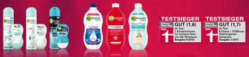Garnier Geld Zurück Aktion für 2 Produkte