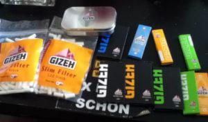 Zigarettenpapiere von Gizeh
