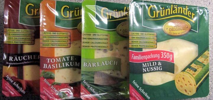 Grünländer Käseplatte