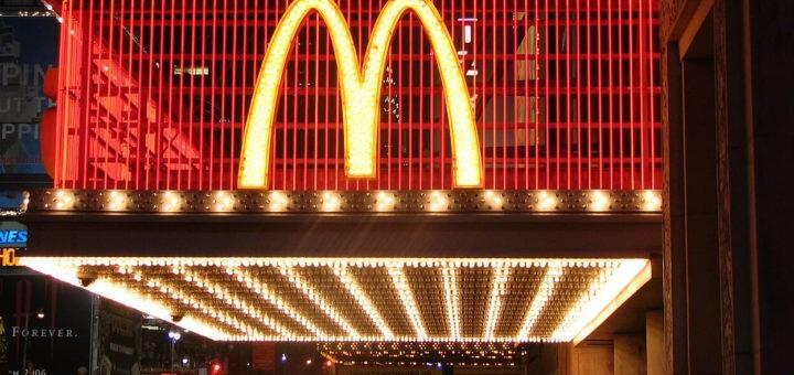 McDonald's am Times Square
