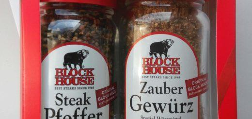 Block House Steak Pfeffer & Block House Zauber Gewürz